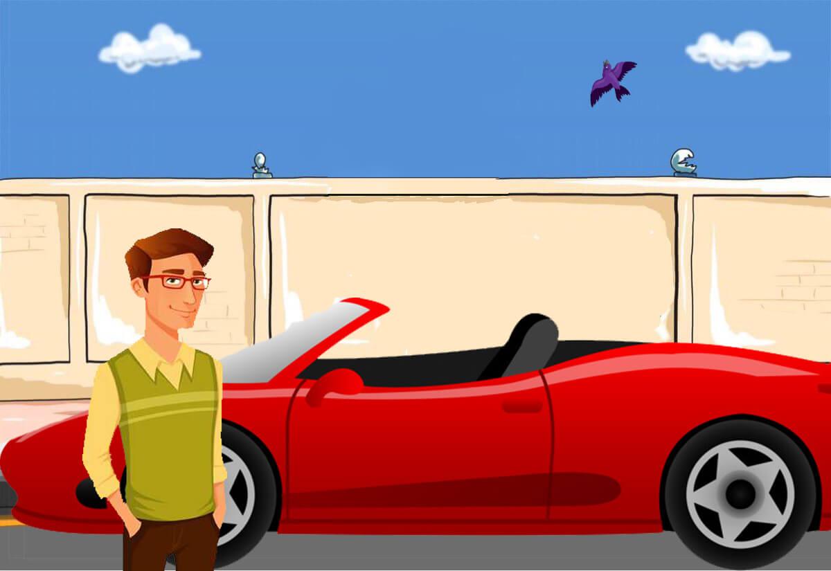 قصة عصام وحادث السيارة