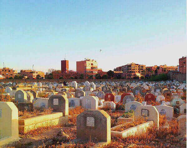 سكان المقابر في مصر