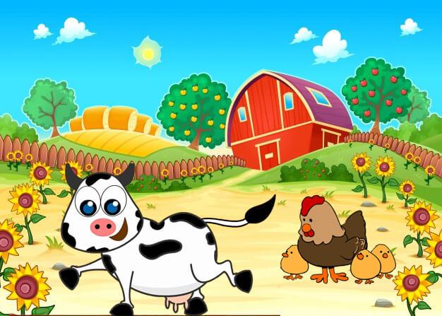 لغز المزارع