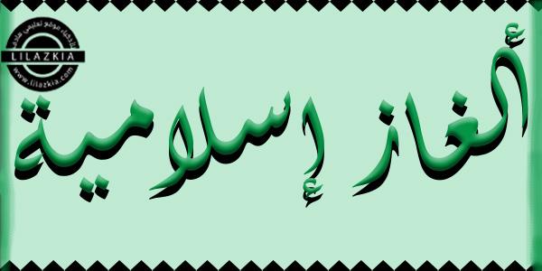 الألغاز الإسلامية